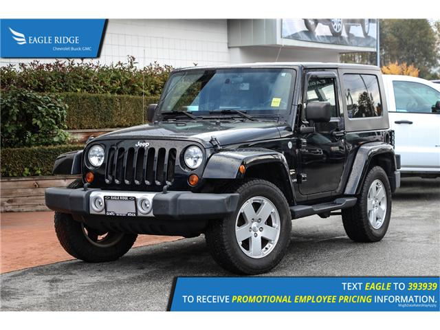 2010 Jeep Wrangler Sahara (Stk: 101226) in Coquitlam - Image 1 of 13