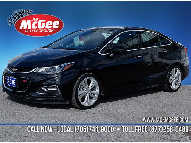 2016 Chevrolet Cruze Premier Auto (Stk: 18661C) in Peterborough - Image 1 of 20
