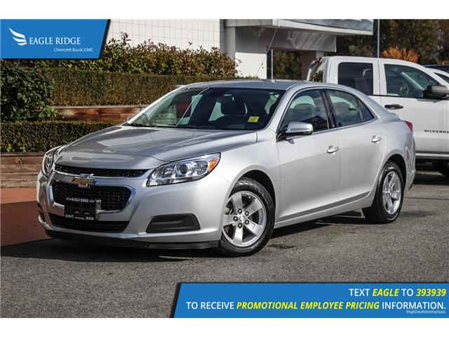 2016 Chevrolet Malibu Limited LT (Stk: 169026) in Coquitlam - Image 1 of 14