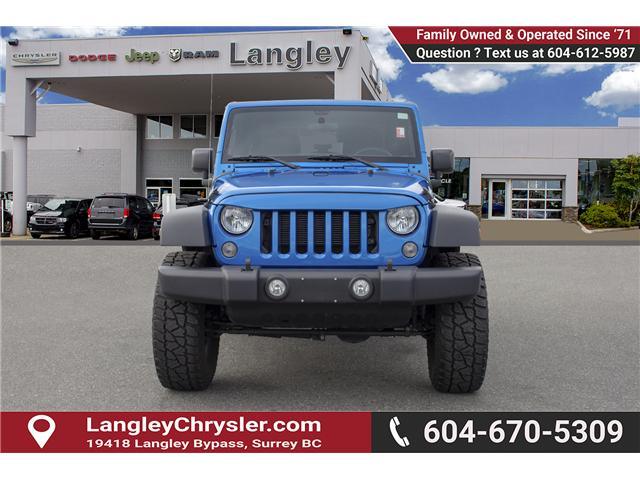 2016 Jeep Wrangler Sport (Stk: J313244A) in Surrey - Image 2 of 21