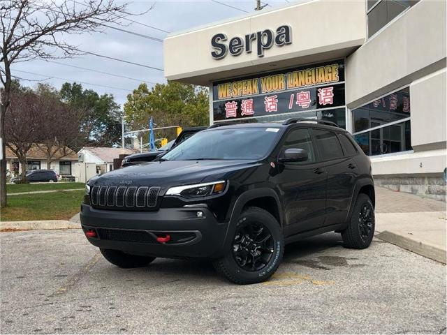 2019 Jeep Cherokee Trailhawk (Stk: 194040) in Toronto - Image 1 of 15