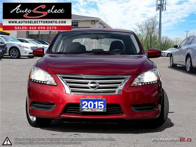 2015 Nissan Sentra  (Stk: 15NQS3R) in Scarborough - Image 2 of 29