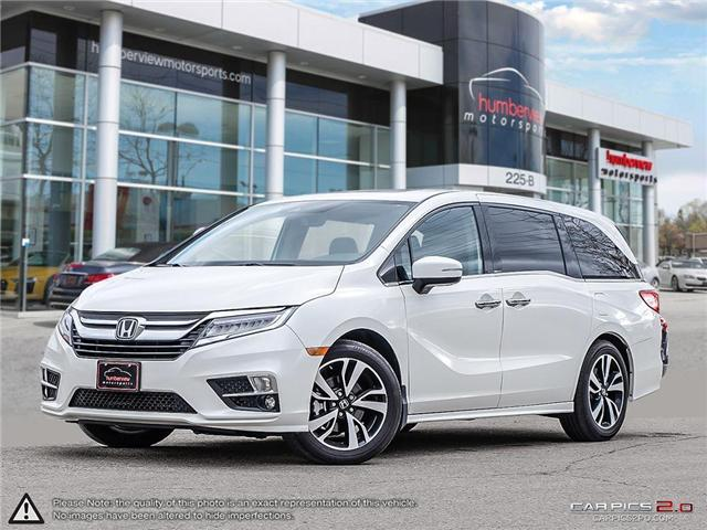 2018 Honda Odyssey Touring (Stk: 18HMS666) in Mississauga - Image 1 of 28