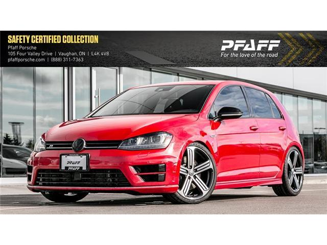 2016 Volkswagen Golf R 5-Dr 2.0T 4MOTION at DSG (Stk: U7435) in Vaughan - Image 1 of 21