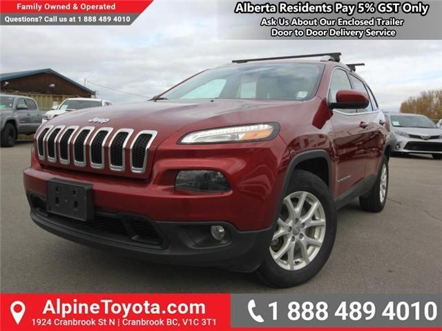 2016 Jeep Cherokee North (Stk: X035163A) in Cranbrook - Image 1 of 20