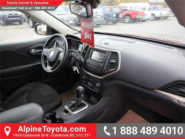 2016 Jeep Cherokee North (Stk: X035163A) in Cranbrook - Image 11 of 20
