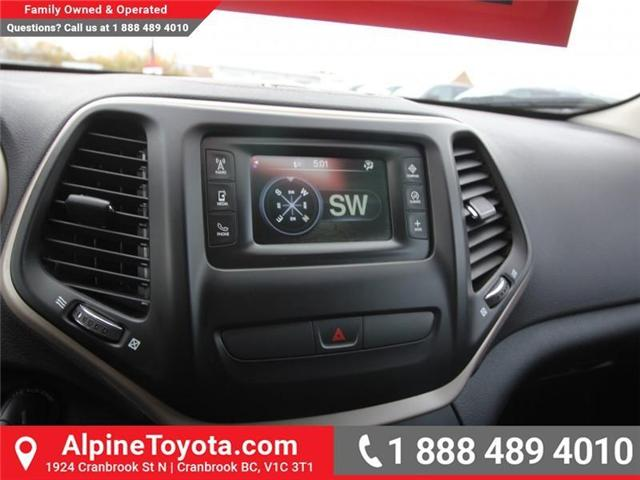 2016 Jeep Cherokee North (Stk: X035163A) in Cranbrook - Image 13 of 20