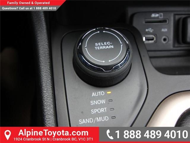 2016 Jeep Cherokee North (Stk: X035163A) in Cranbrook - Image 15 of 20