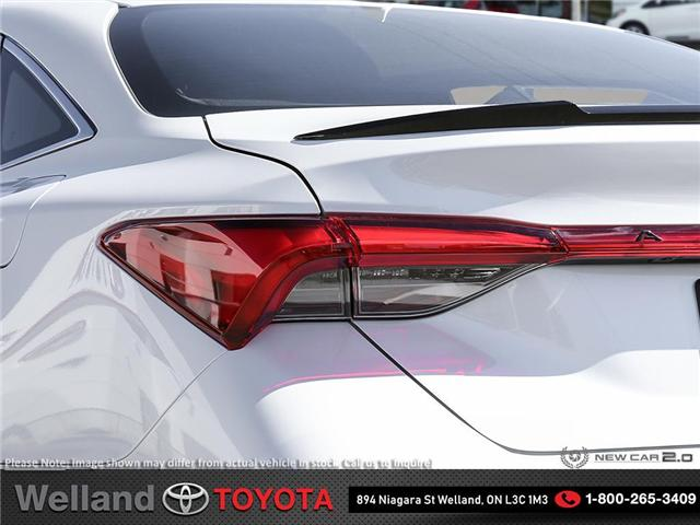 2019 Toyota Avalon Limited (Stk: AVA6174) in Welland - Image 11 of 24