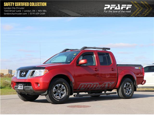 2015 Nissan Frontier  (Stk: U8512A) in London - Image 1 of 22