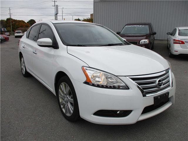2013 Nissan Sentra 1.8SL (Stk: 181629) in Kingston - Image 1 of 12