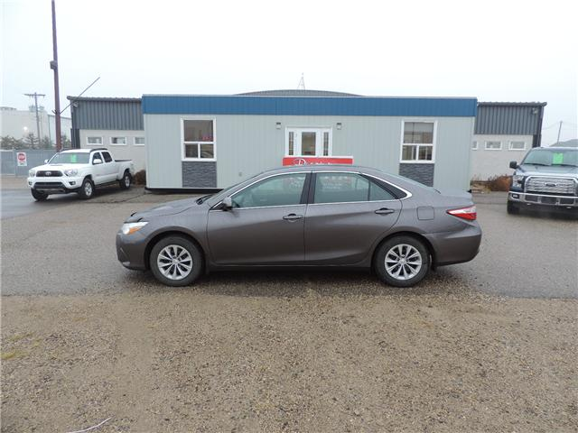 2015 Toyota Camry LE (Stk: 3877) in Brandon - Image 1 of 17