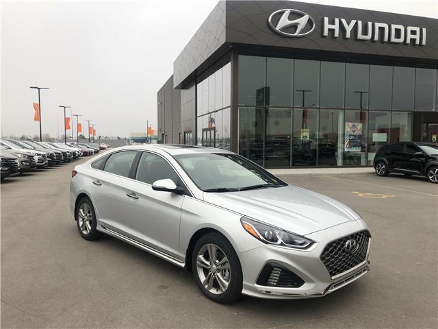 2018 Hyundai Sonata 2.4 Sport (Stk: 28129) in Saskatoon - Image 1 of 23