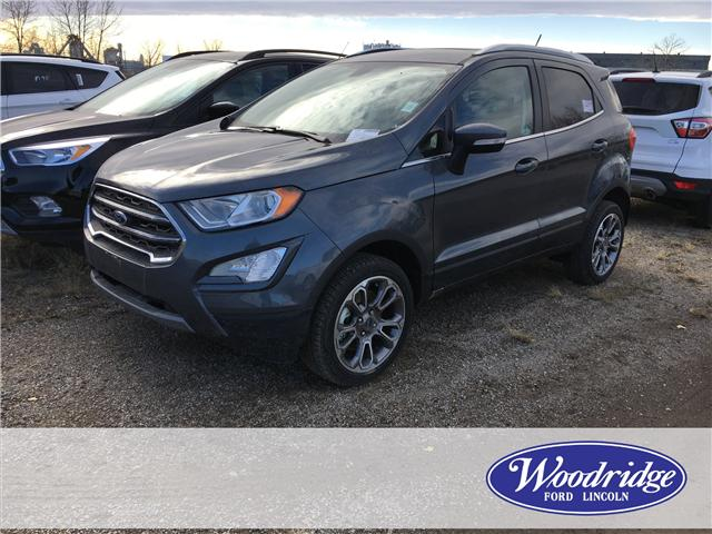 2018 Ford EcoSport Titanium (Stk: J-2579) in Calgary - Image 1 of 5