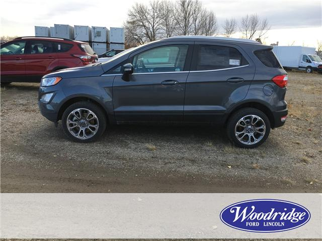 2018 Ford EcoSport Titanium (Stk: J-2579) in Calgary - Image 2 of 5