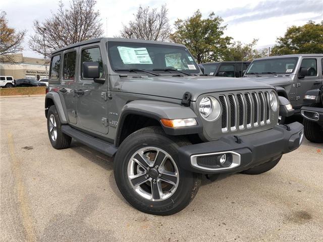 2018 Jeep Wrangler Unlimited Sahara (Stk: J1161) in Burlington - Image 1 of 17