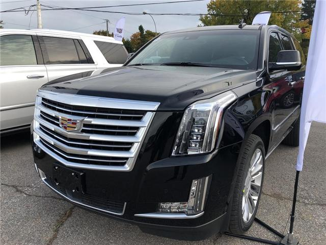 2019 Cadillac Escalade Platinum (Stk: R167844) in Markham - Image 1 of 5