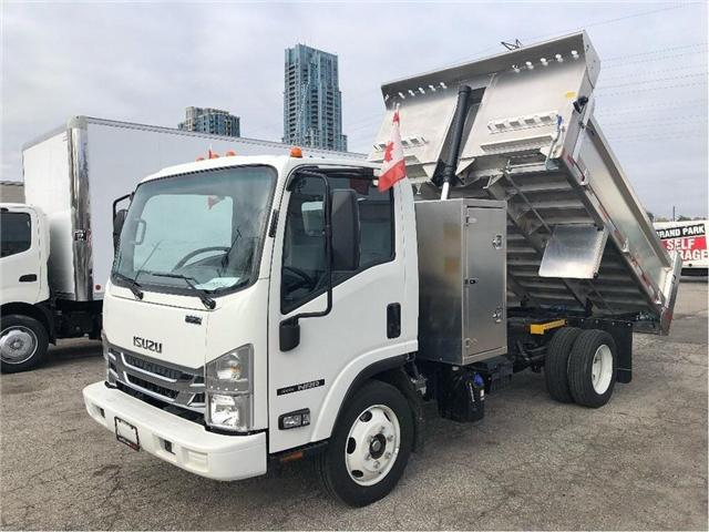 2018 Isuzu NRR New 2018 Isuzu With Aluminum Dump (Stk: DTI85054) in Toronto - Image 1 of 14