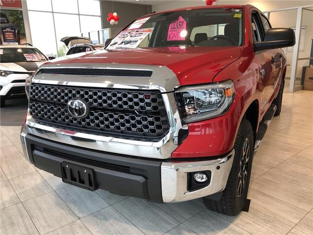 2018 Toyota Tundra SR5 Plus 5.7L V8 (Stk: 8TN780) in Georgetown - Image 1 of 5