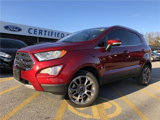 2018 Ford EcoSport Titanium (Stk: ES181019A) in Barrie - Image 1 of 30