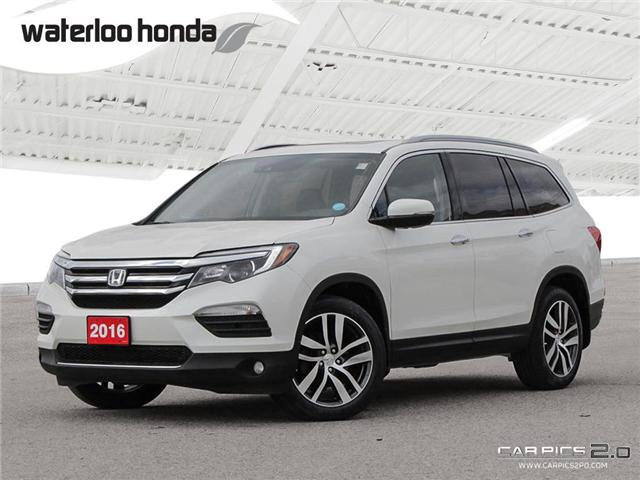 2016 Honda Pilot Touring (Stk: U4669) in Waterloo - Image 1 of 28