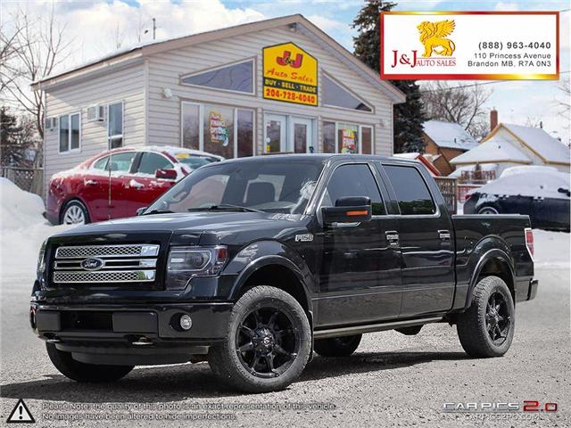 2013 Ford F-150 Limited (Stk: J18058) in Brandon - Image 1 of 27