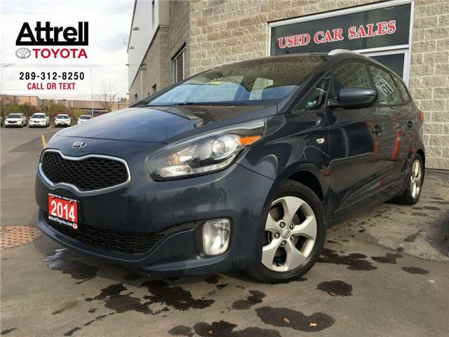 2014 Kia RONDO LX 7 PASSENGER, ALLOY WHEELS, FOG LAMPS, HEATED SE (Stk: 42583A) in Brampton - Image 1 of 24