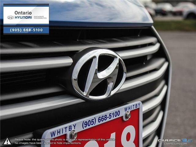 2018 Hyundai Elantra GL / Low Klm (Stk: 44901K) in Whitby - Image 9 of 27