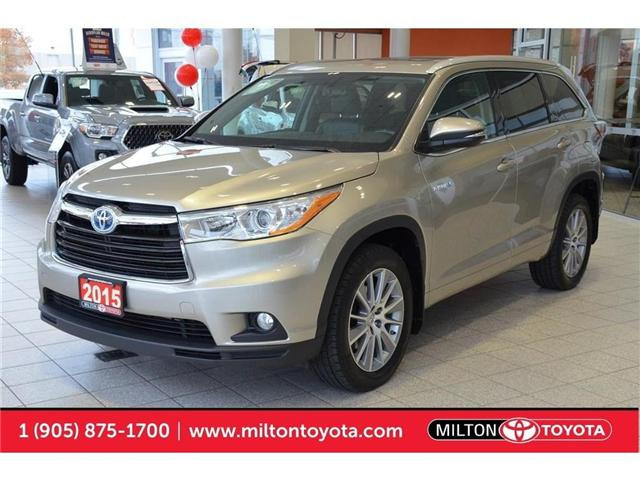 2015 Toyota Highlander Hybrid  (Stk: 013524) in Milton - Image 1 of 43
