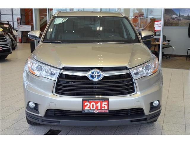 2015 Toyota Highlander Hybrid  (Stk: 013524) in Milton - Image 2 of 43