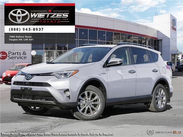 2018 Toyota RAV4 AWD Hybrid Limited (Stk: 67571) in Vaughan - Image 1 of 22