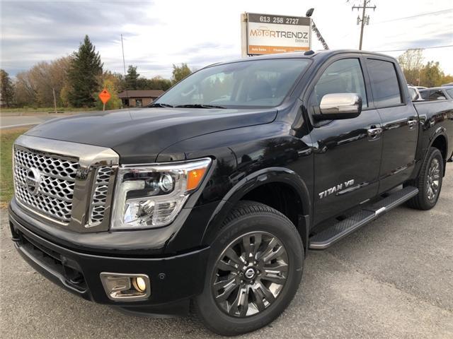 2018 Nissan Titan Platinum (Stk: -) in Kemptville - Image 1 of 25