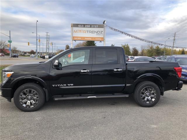 2018 Nissan Titan Platinum (Stk: -) in Kemptville - Image 2 of 25