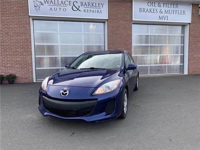 2012 Mazda Mazda3 GX (Stk: 568143) in Truro - Image 1 of 8