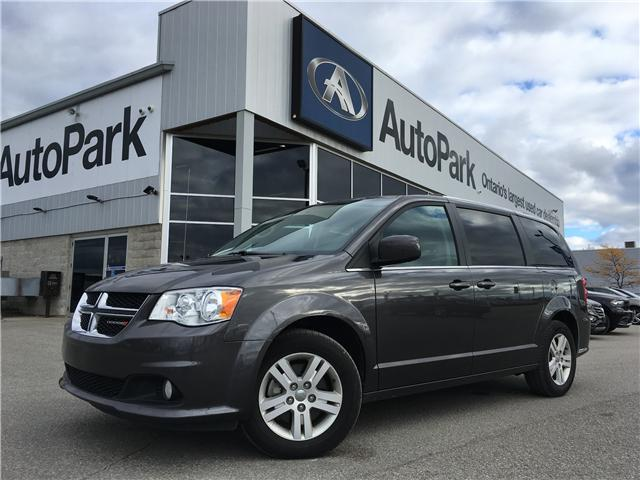 2018 Dodge Grand Caravan Crew (Stk: 18-16586RJB) in Barrie - Image 1 of 28