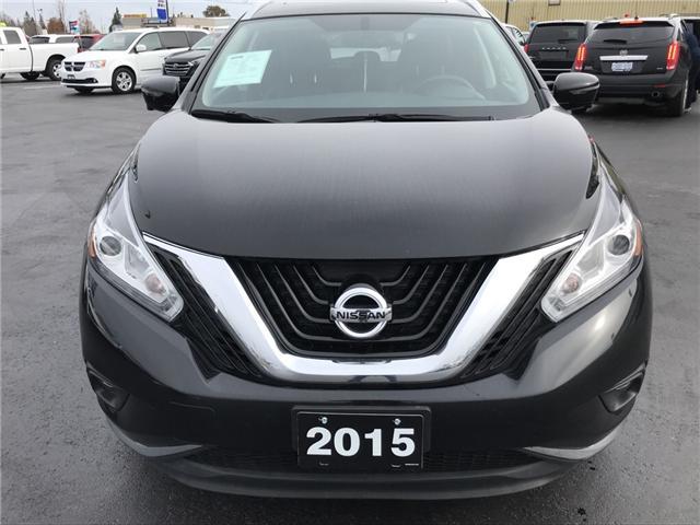 2015 Nissan Murano SL (Stk: 18568) in Sudbury - Image 2 of 13