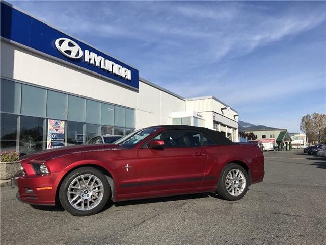 2014 Ford Mustang V6 Premium (Stk: H18-0079A) in Chilliwack - Image 1 of 12