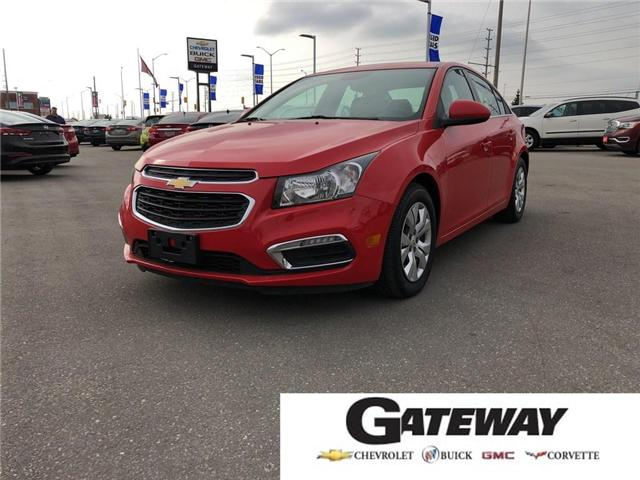 2016 Chevrolet Cruze 1LT|Backup Camera|OnStar|USB/AUX inputs| (Stk: 238247A) in BRAMPTON - Image 1 of 15