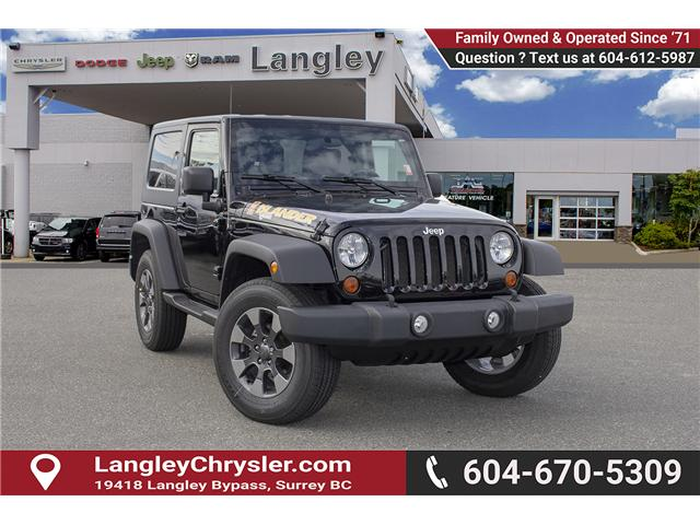 2010 Jeep Wrangler Sport (Stk: EE896140A) in Surrey - Image 1 of 18