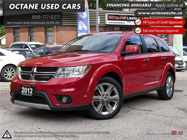 2012 Dodge Journey R/T (Stk: ) in Scarborough - Image 1 of 25