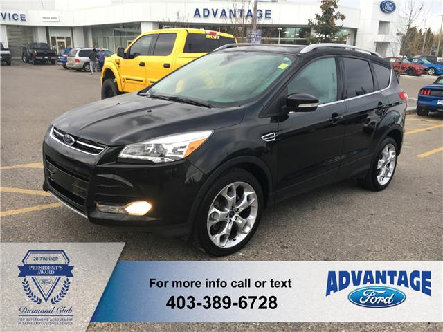 2015 Ford Escape Titanium (Stk: J-1820A) in Calgary - Image 1 of 18