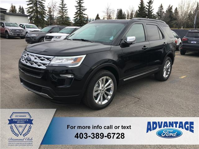 2019 Ford Explorer XLT (Stk: K-100) in Calgary - Image 1 of 5