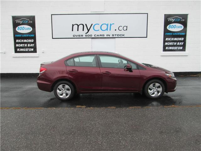 2013 Honda Civic LX (Stk: 181612) in North Bay - Image 1 of 13