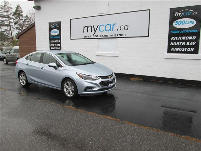 2017 Chevrolet Cruze Premier Auto (Stk: 181614) in Richmond - Image 2 of 13