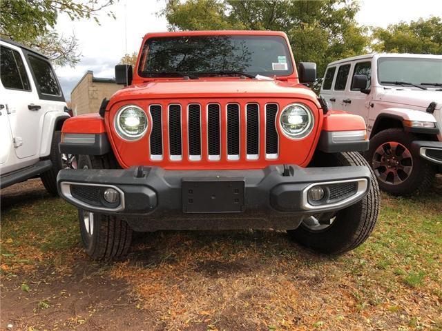 2018 Jeep Wrangler Unlimited Sahara (Stk: J1168) in Burlington - Image 2 of 16