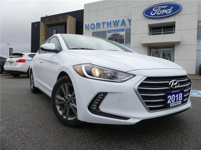 2018 Hyundai Elantra SE | MOONROOF | HEATED SEATS/WHEEL | REAR CAM | (Stk: U639079) in Brantford - Image 2 of 24