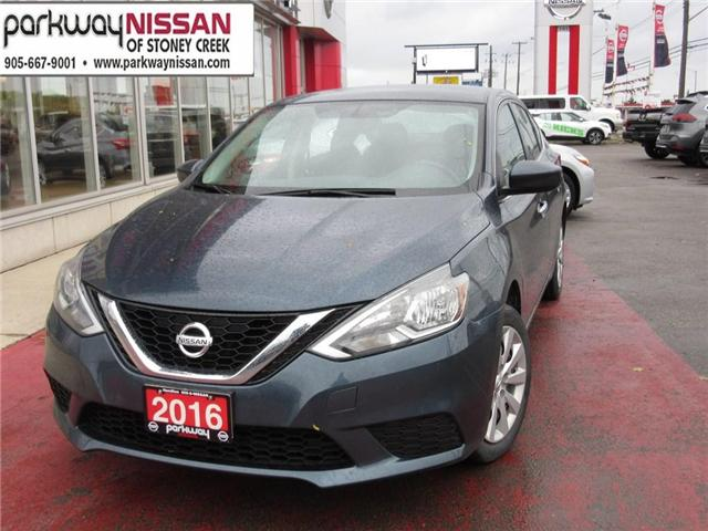 2016 Nissan Sentra 1.8 S (Stk: N18785A) in Hamilton - Image 1 of 13