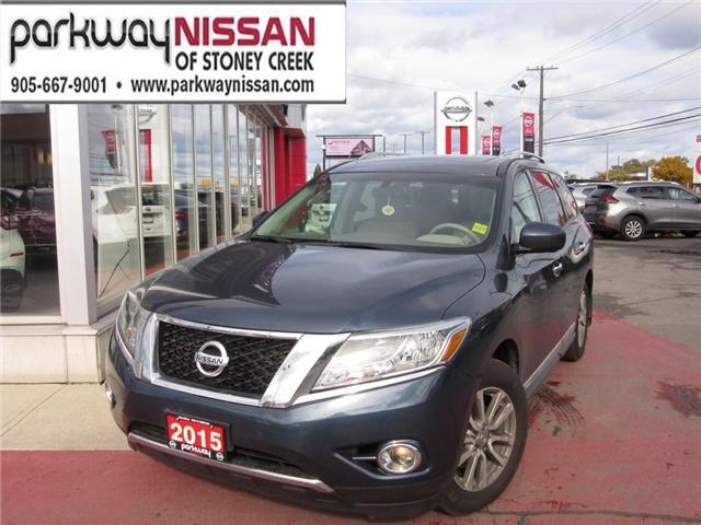 2015 Nissan Pathfinder SL (Stk: N1337) in Hamilton - Image 1 of 22