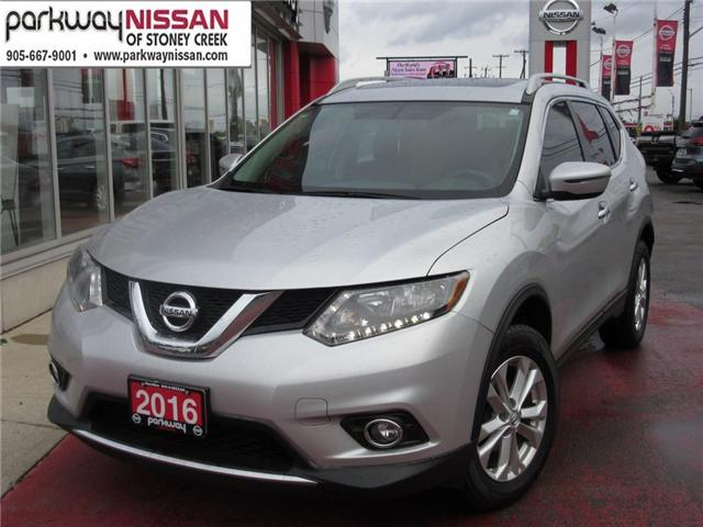 2016 Nissan Rogue SV (Stk: N1347) in Hamilton - Image 1 of 27