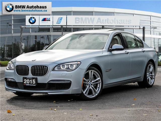 2015 BMW 750  (Stk: P8596) in Thornhill - Image 1 of 26